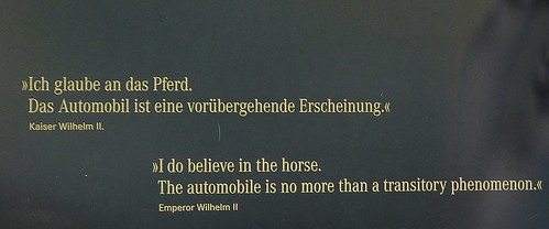 Ich glaube an das Pferd