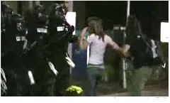 students and police G20 Pittsburgh2