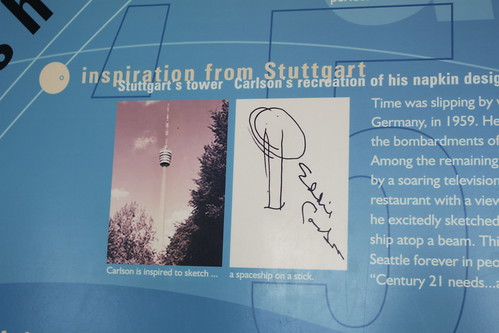 Seattle - Space Needle - Original Concept