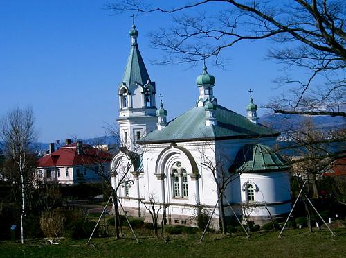Iglesia rusa ortodoxa.