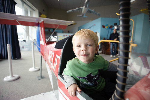 Look at Me! I'm a Pilot!