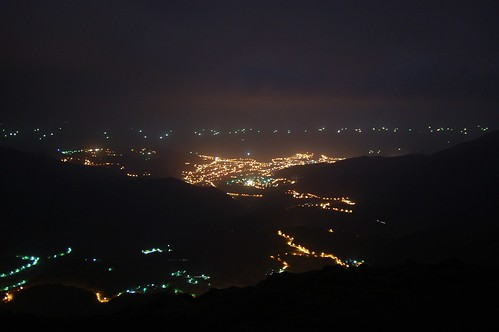 Qixingshan by night