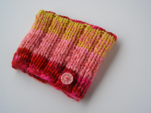 strawberry sunrise shifting stripes hat - babe