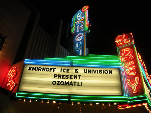 Ozomatli at the El Rey Theater, 9/11/09 by you.