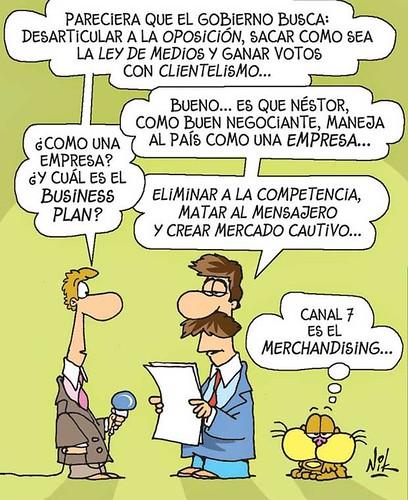 Plan de negocios K. Por Nik, en La Nación.