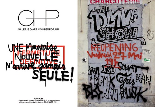 DMV Show @ GHP Gallery in Toulouse