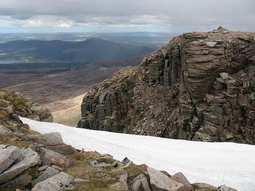 Cairn Lochan summit cairn