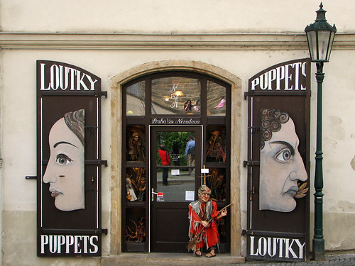Puppet shop near Prague Castle by you.