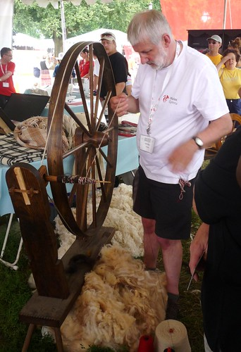 Welsh Spinning Guy by you.