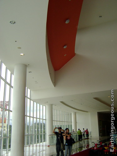 SM Fairview Annext 2 lovely ceiling
