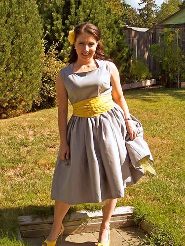 this dress is sooo much fun!