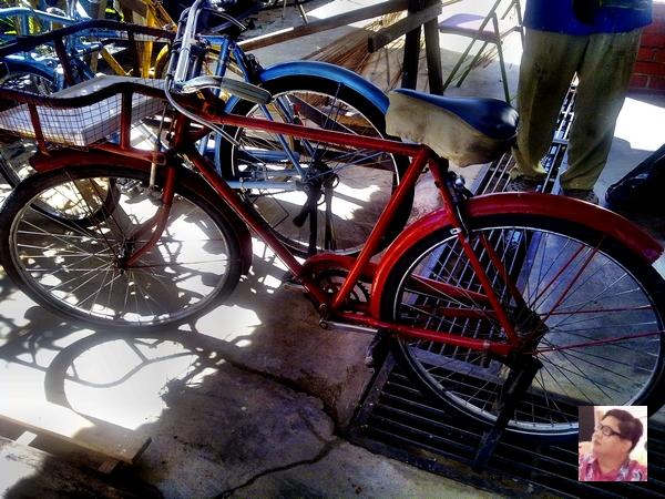 classic postman bicycle
