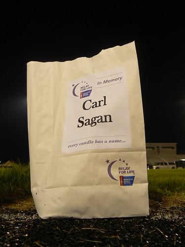 Relay for Life - Carl Sagan Luminary