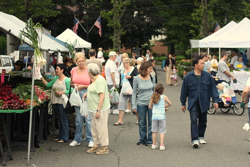 Tenafly Farmers Market June 14, 2009 by you.