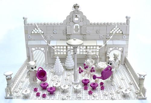 LEGO Color Fabuland White