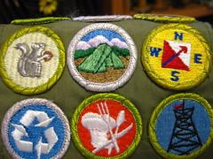 merit badges!
