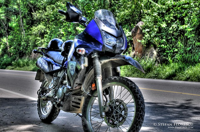 KLR 650 Trip Venezuela 83