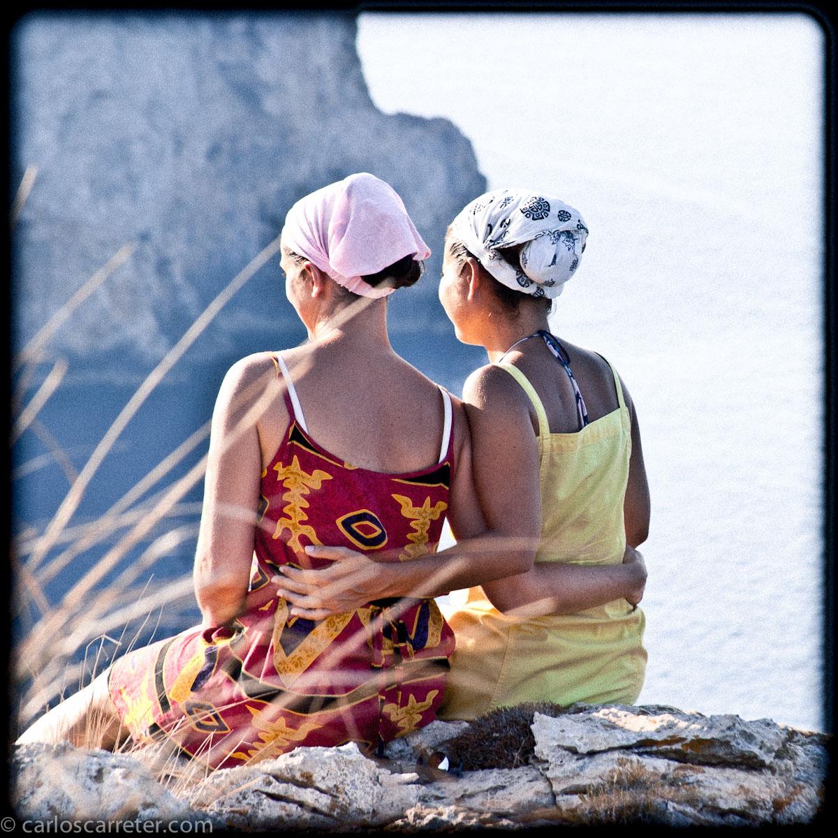 Cabo Formentor - Madre e hija