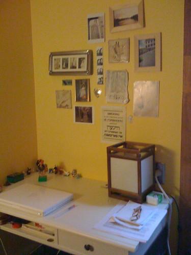 desk in my new room