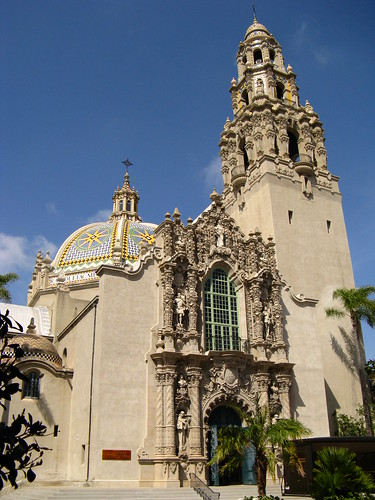 California Tower, Museum of Man, Balboa Park, San Diego