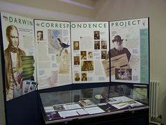 Darwin Correspondence Project display, Whipple Museum, University of Cambridge