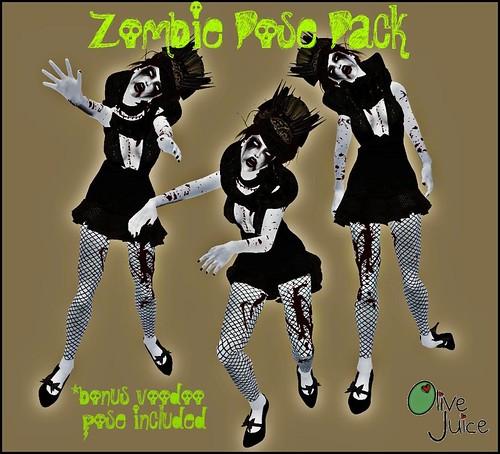 ZOMGbies Pose Pack