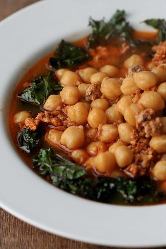 Chickpea Chorizo Stew 1