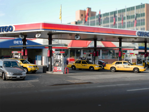 Queens Blvd. Gas Station by you.