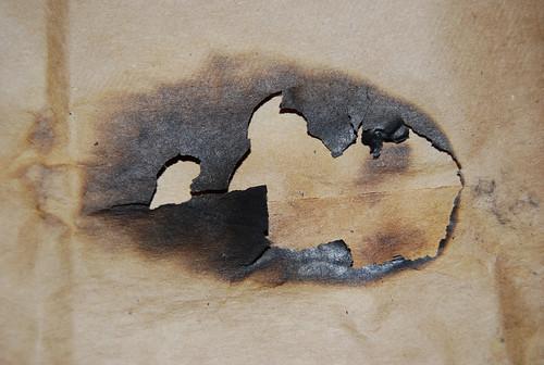 Burnt Paper Texture 02