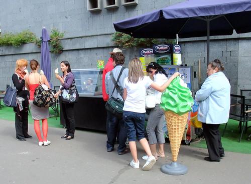 Karlovy Vary: Ice cream