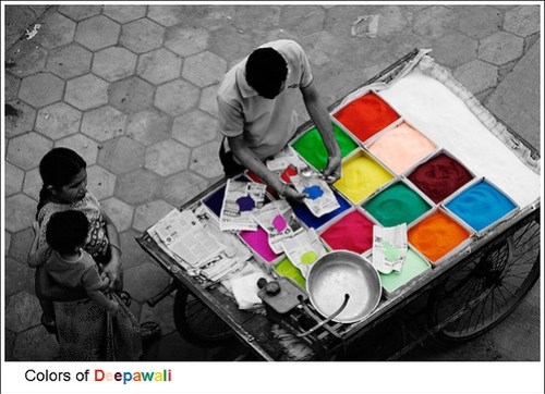 Colors of Deepawali