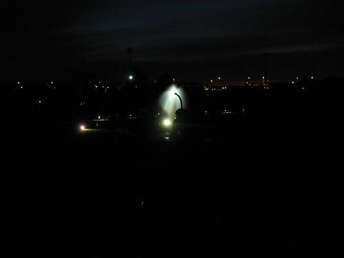 Cherry and Spoon bridge at night