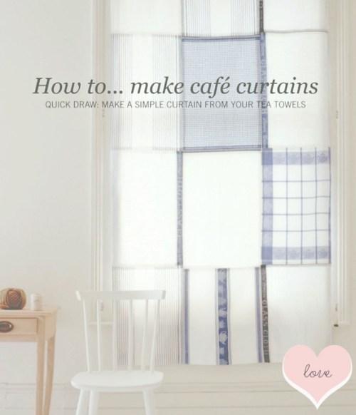 Easy DIY Curtain Idea