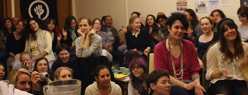 Audience at Reclaim The Night