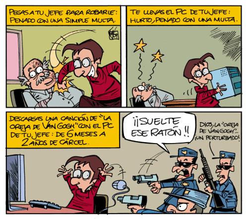 Cuidado con lo que descargas en internet
