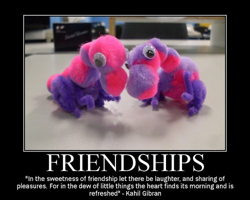 Another commentary on Friendship...