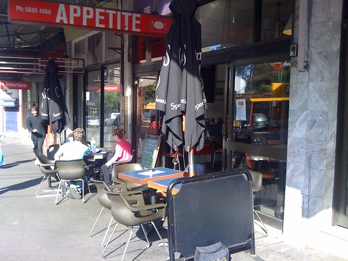 Appetite cafe, Redfern