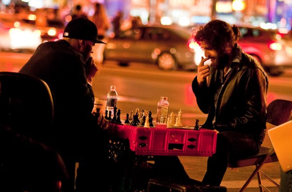 134/365 - Chess, Union Square.