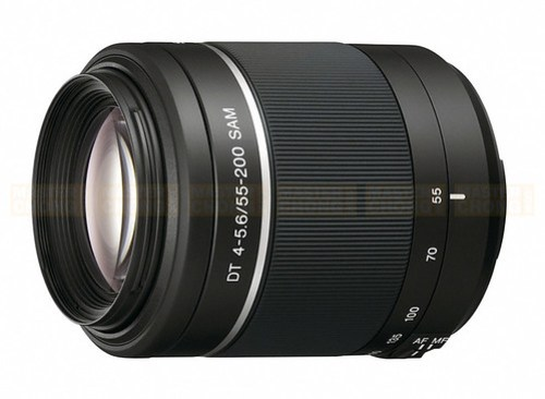 Sony Alpha DT 55-200mm F/4-5.6 telephoto zoom lens