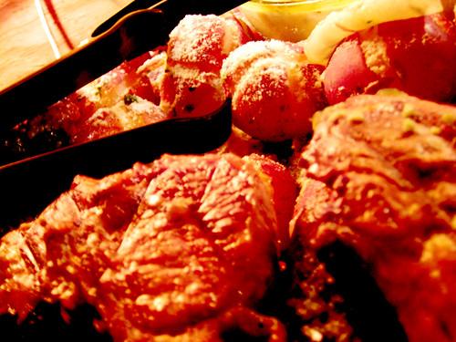 Lamb Chops & Potatoes