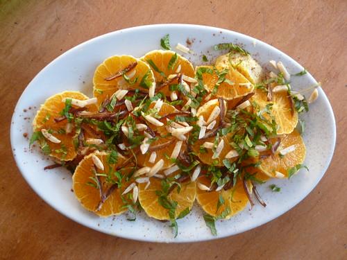 Moroccan Orange Salad