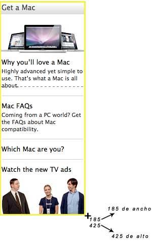 Ejemplo de selección con captura de pantalla