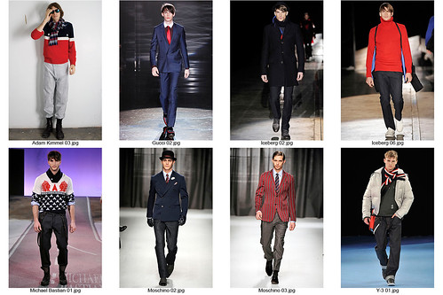 F/W09 Red, White, & Blue
