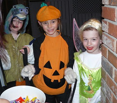 Lovely kids at Halloween