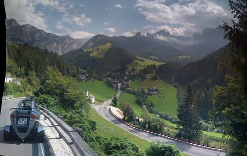 Rosengarten, Dolomites, Italy (iPhone Panorama)