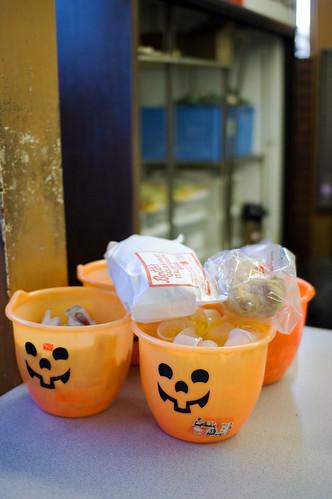 Halloween Condiments