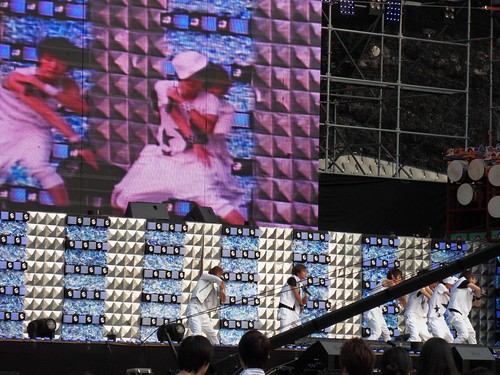 Warmup act at Asia Song Festival