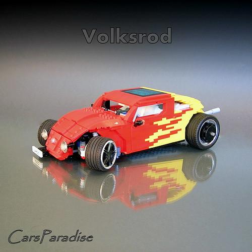 LEGO Volkwagon Hotrod Herbie