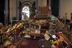 Washington DC: Smithsonian Castle - Pile of Loot