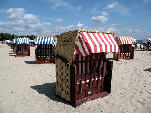 La spiaggia di Travemunde